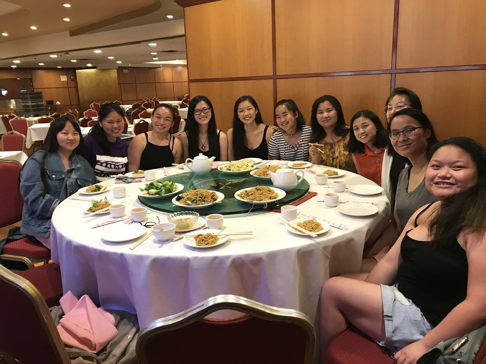 Adoptees enjoy a CCI workshop created especially for the event and a delicious dim sum dinner.