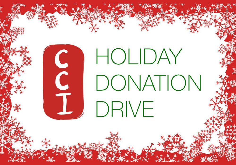 CCI Holiday Fundraising Drive