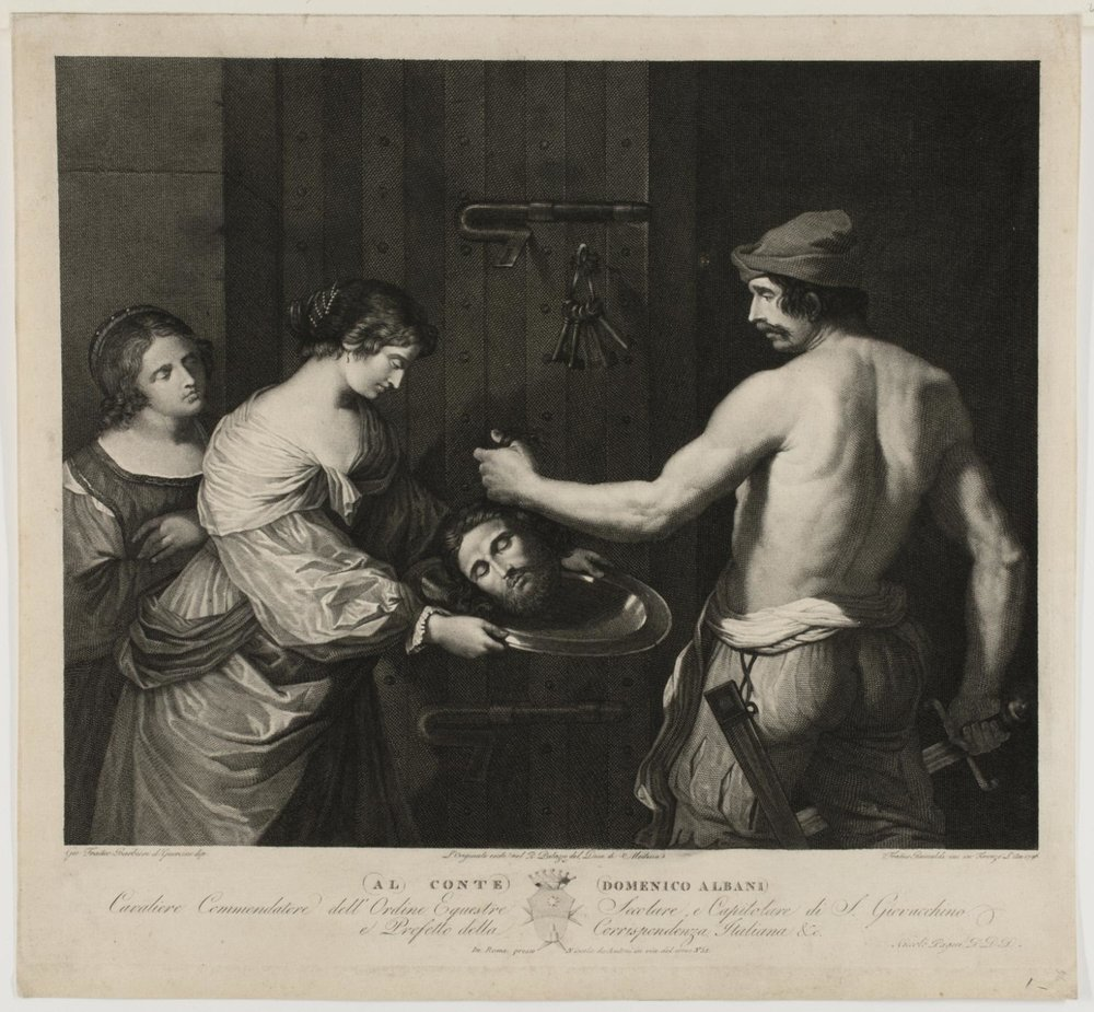 Martyrdom of St. John the Baptist  , 1796, by Francesco Rainaldi, Italian from  Philadelphia Art Museum