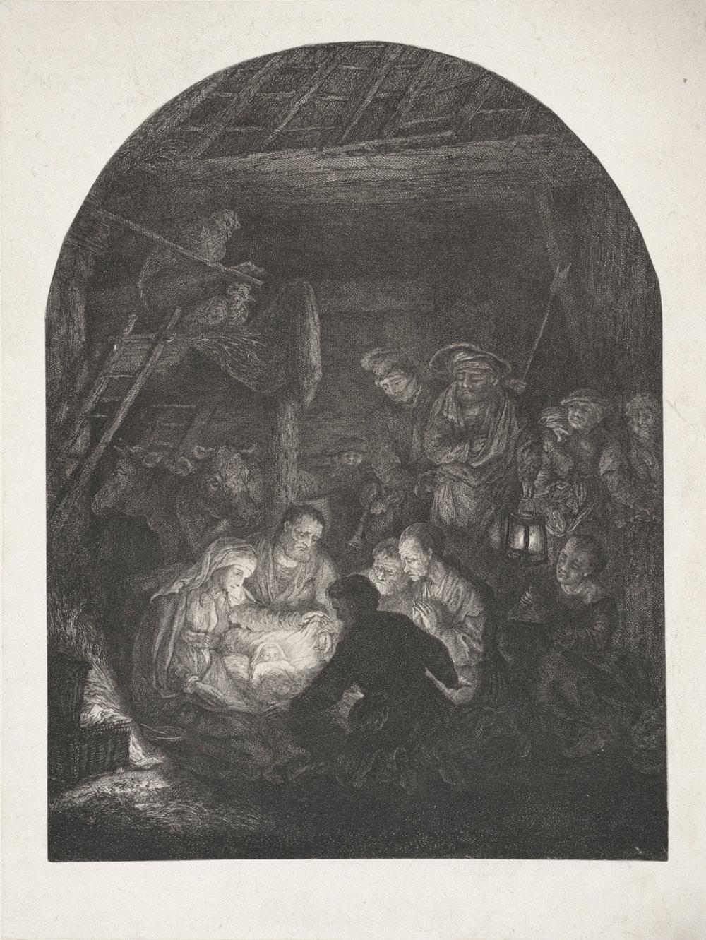 The Nativity, 1778  , Carl Ernst Christoph Hess, German, from the  Philadelphia Museum of Art