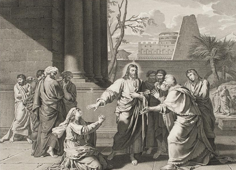 The Canaanite  , 1803, by Louis H.P. Duval, French, from the  Philadelphia Museum of Art