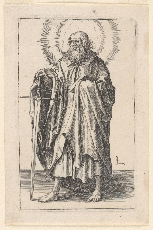 Paul  , c. 1510, by Lucas van Leyden, Netherlandish from the  Philadelphia Museum of Art