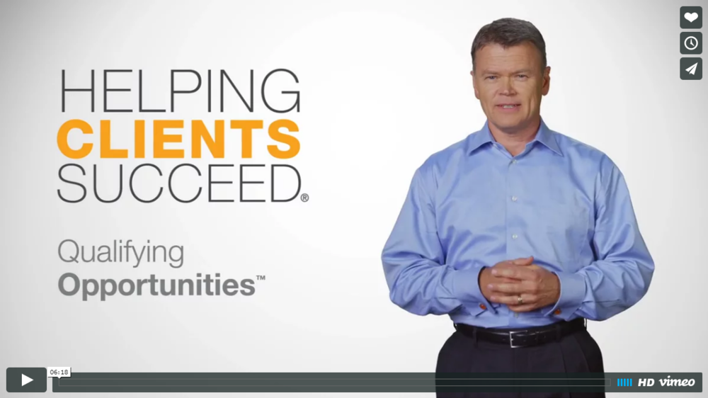 Helping Clients Succeed: Qualifying Opportunities