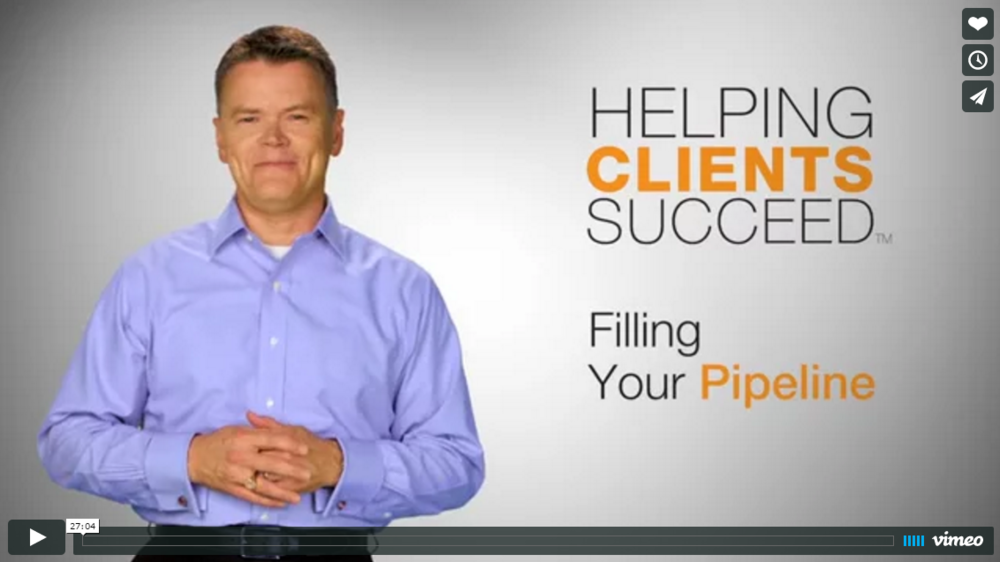 Helping Clients Succeed: Filling Your Pipeline