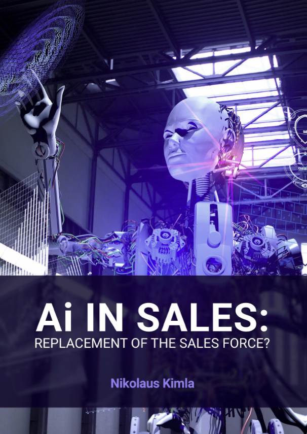 Artificial Intelligence and the Future of Sales. - While artificial intelligence has been predicted for many years, especially through science fiction movies and television, it is truly now coming to pass. But when it comes to sales is Ai friend or foe? It is this complex and timely topic we're going to be exploring in this e-book. Download your copy below.