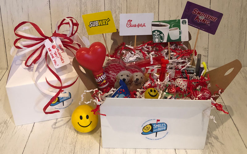 Smiles Valentines Care Package - From $40.00