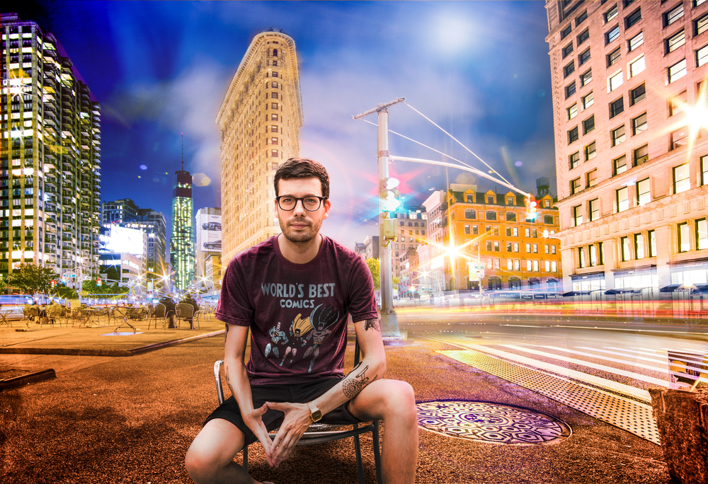 Sean Turi Environmental Portrait