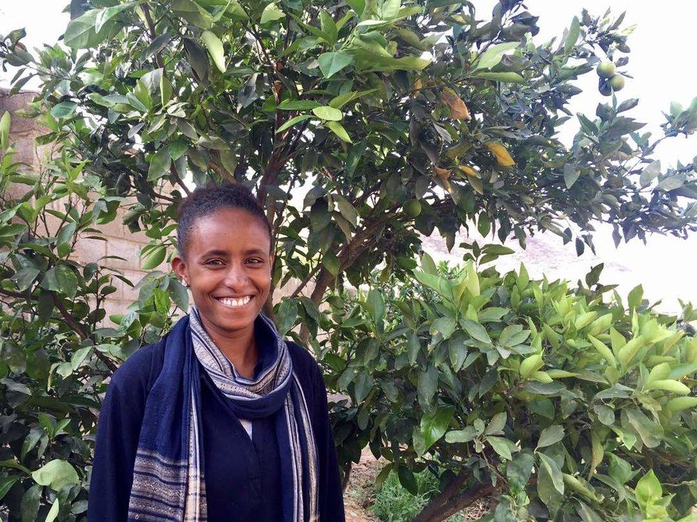 Eden Tesfalem   Maternal Health Agent in Enghela