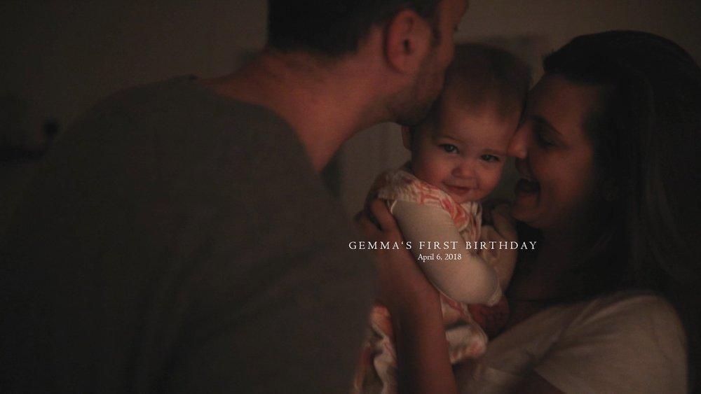 Home Movies / Atlanta, GA / Brittany Knapik Photography / Gemma's First Birthday
