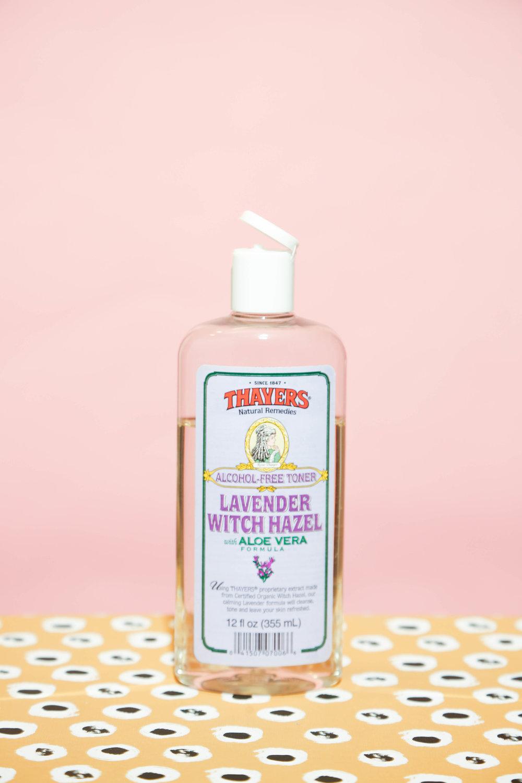 thayers lavender witch hazel and aloe vera alcohol-free toner