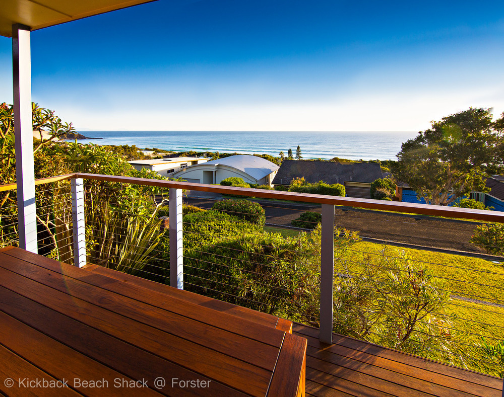 Forster Pet Friendly Accommodation and Holiday House NSW your yard