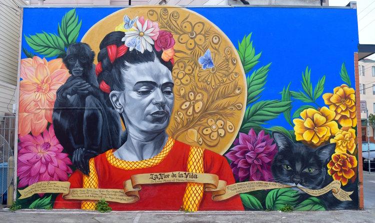 La Flor De La Vida Postcard Twin Walls Mural Company