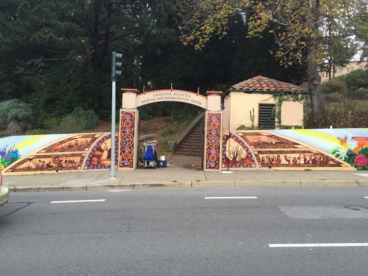 150 Years of Dedicated and Compassionate Service to the Community Mural Project