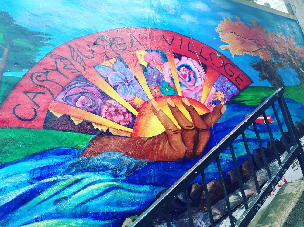Cayuga Village Mural Project