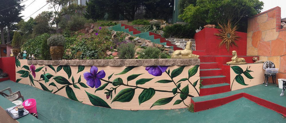 Princess Flowers Mural Project