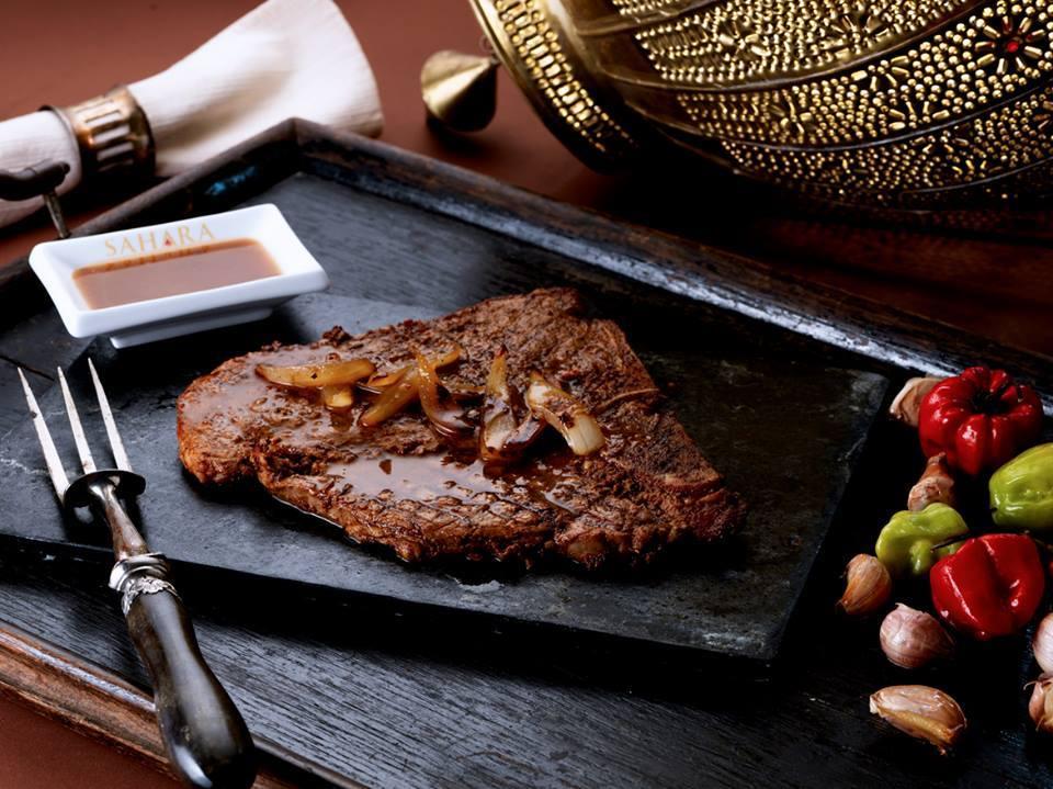 T Bone Steak. Photo courtesy of Sahara Grill
