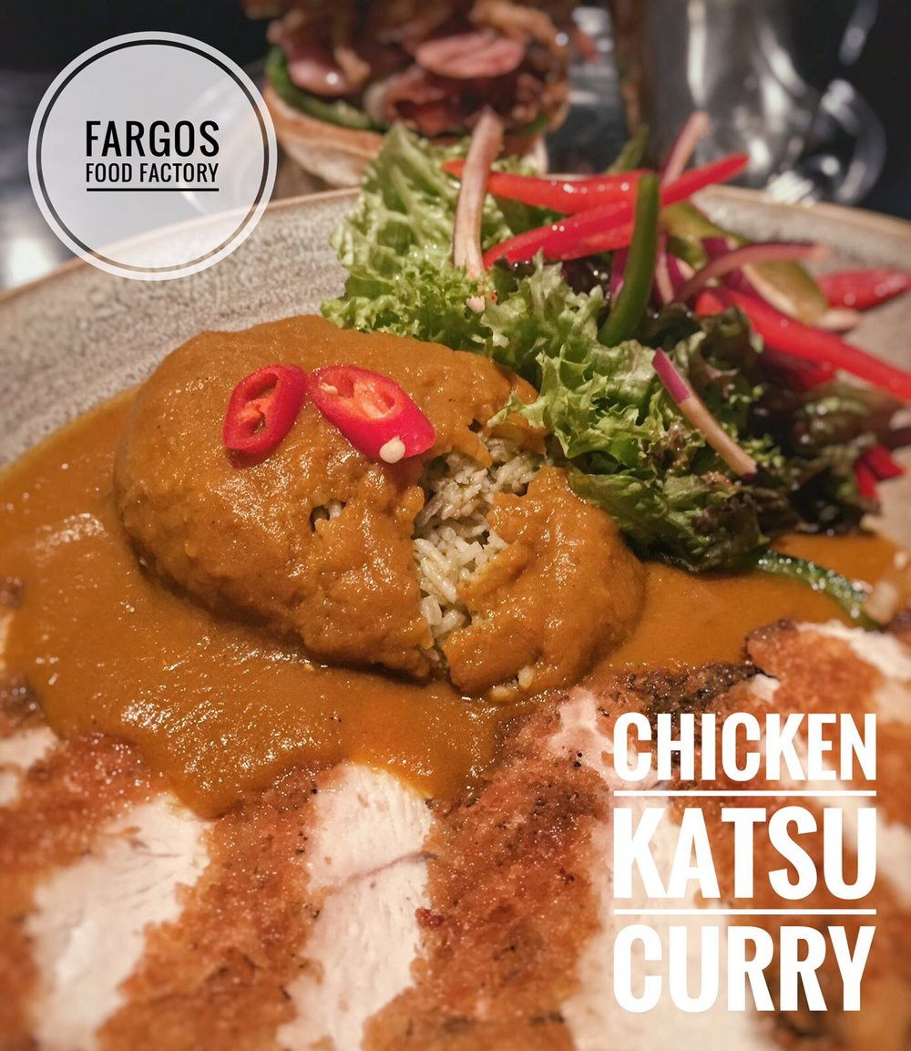 Katsu Chicken Curry. Photo courtesy of Halal Munchiez