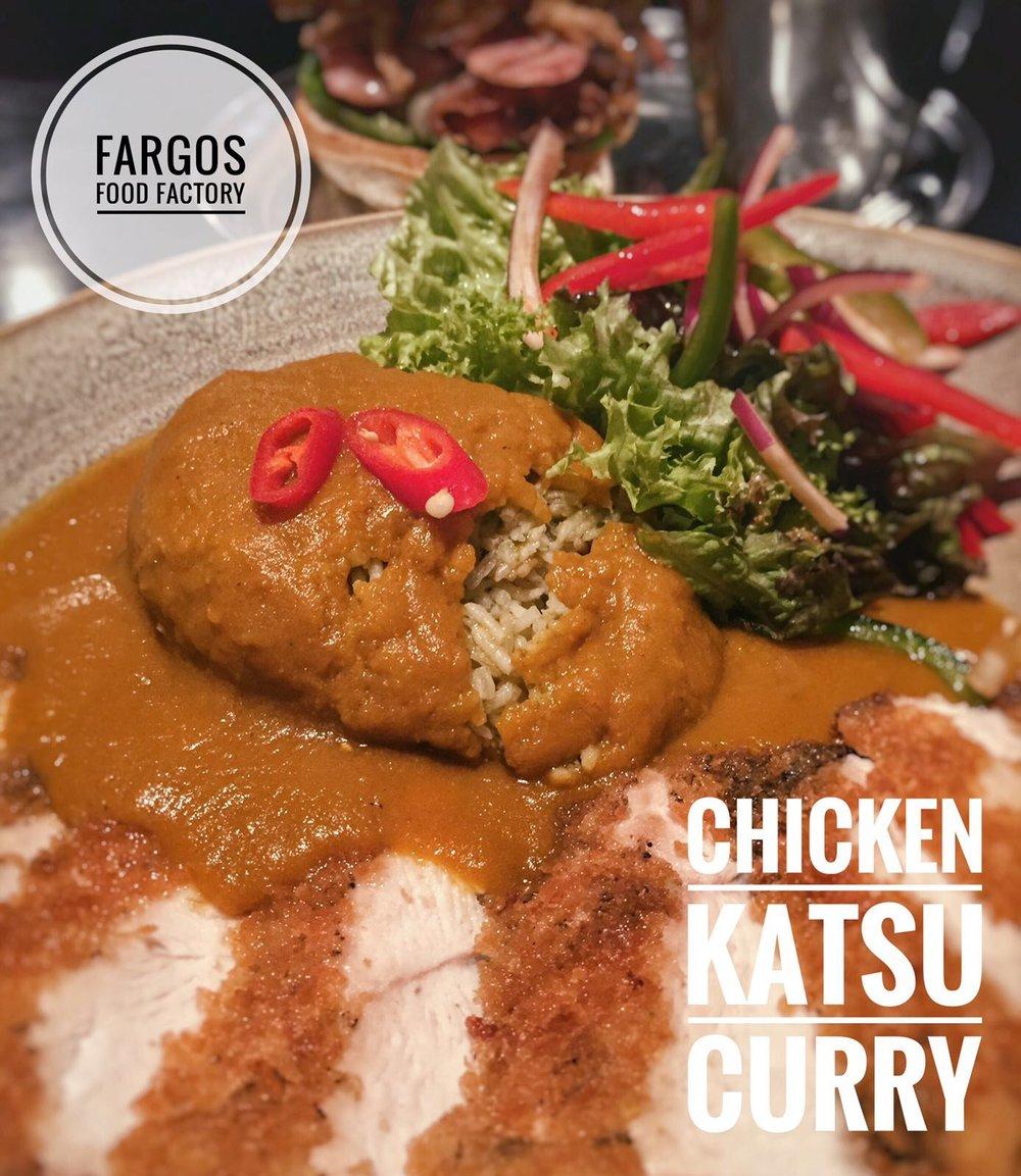 Katsu Chicken Curry. Photo courtesy of Halal Munchiez