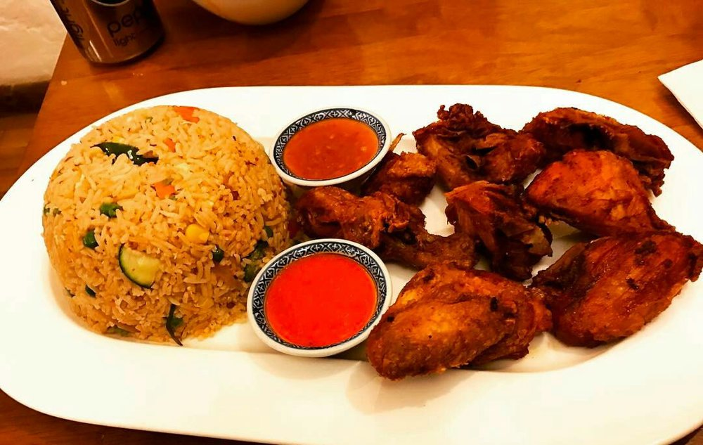 Singaporean rice with chicken. Photo courtesy of Kam vs Food