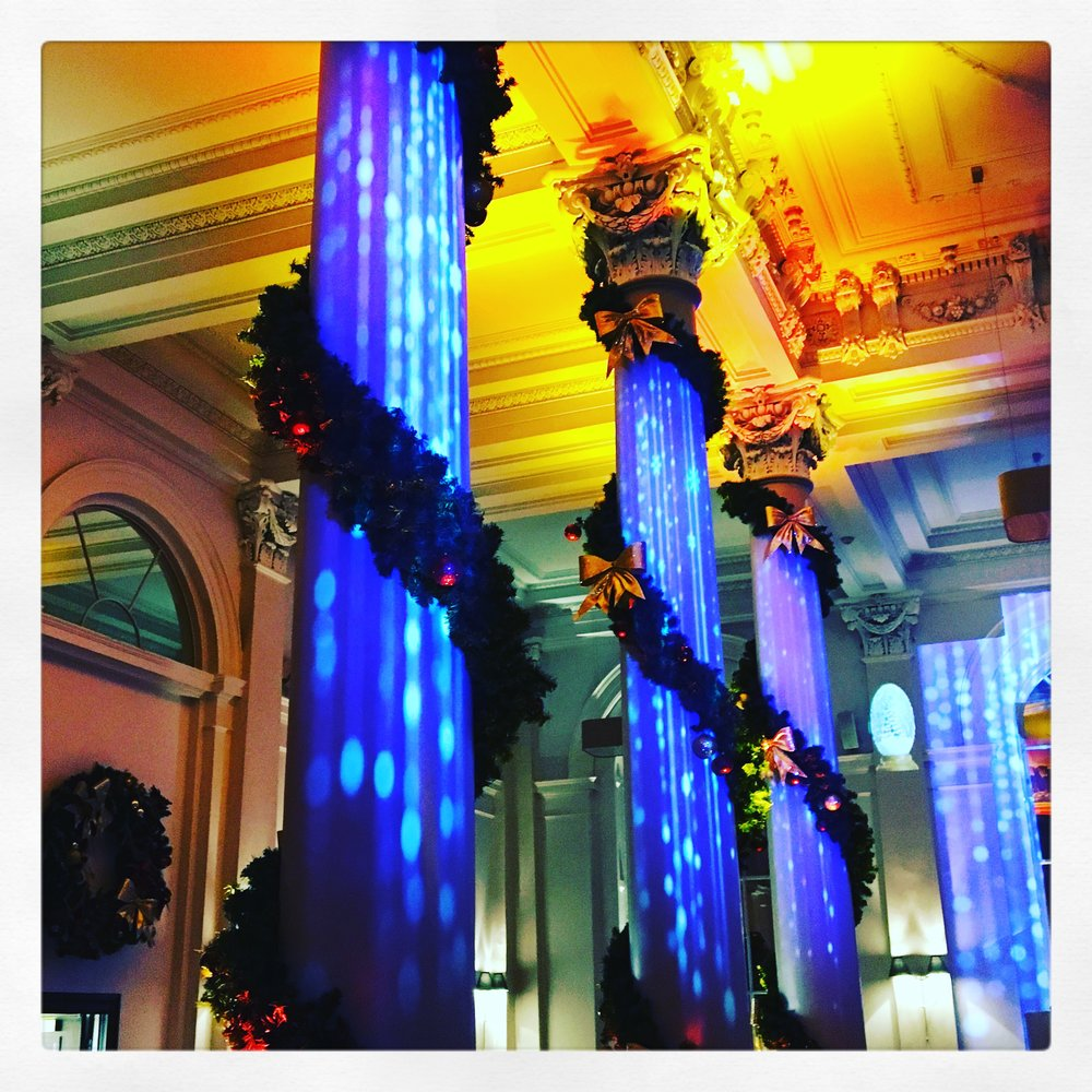 Christmas Show Projection mapping
