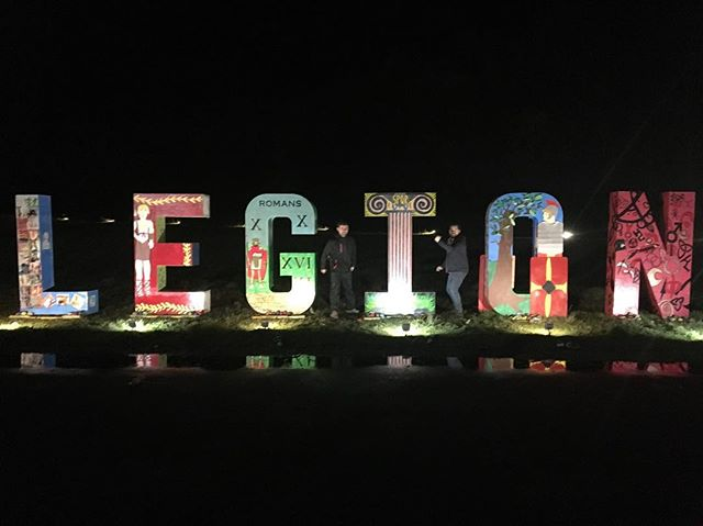 #legion event !! Week 2  Get your tickets now if you haven't already!! We have created an immersive sound and light installation for @roughcastleexperiences Legion!  Visit https://roughcastleexperiences.co.uk to find out more!  Legion will run from 14th November to the 16th December 2018.  #legion #dlsv #dlsoundandvideo #projectionmapping #projectionmappingscotland #outdoorevent #events #eventsscotland #scotlandevents #madmapper
