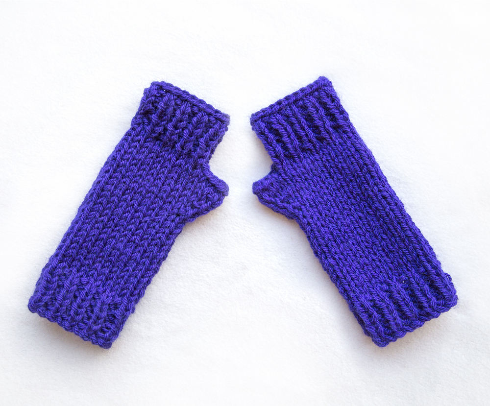 Hand-in-Hand Fingerless Gloves Knitting Pattern – Instant Download ...