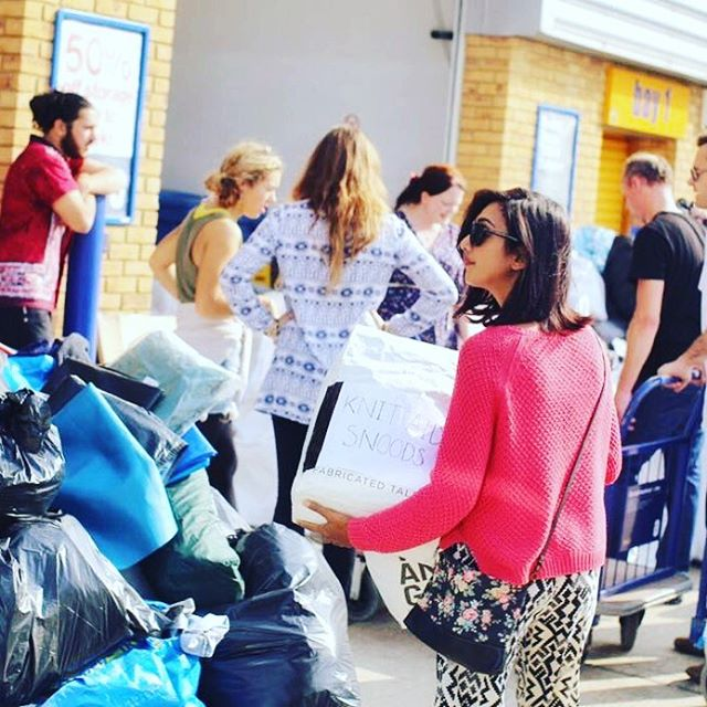 We are fundraising to help pay for our storage space. 👉👉 https://www.paypal.me/knitaid 👈👈 LINK IN PROFILE 🙌 My name is Shahnaz and I set up Knit Aid in the summer of 2015 after seeing heartbreaking images of the refugee crisis unfold in our national press. What started as a simple idea has now grown into a worldwide movement of like-minded knitters.  Sadly, there are still millions of displaced people across the world living in unspeakably harsh conditions. We vowed to continue as long as we were needed, and to do that we need your help.  To continue our important work we need to raise the funds to keep our storage space open. This space is the heart of Knit Aid. Without it, there is nowhere to receive and store your beautiful donations, and send them to where they are desperately needed.  Without it, there is no Knit Aid.  Will you help us to continue our work by donating just £5 (or more) to help us pay for our storage space?  To donate 👉 https://www.paypal.me/knitaid 👈