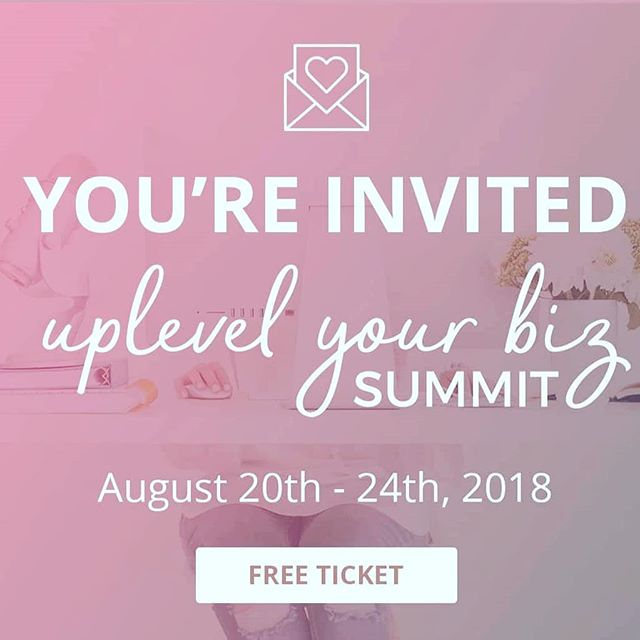 Sooo I shared in my group & on Facebook but I'm a little late to let you all know about this seriously fab summit I participated in & you can still get in on! It's 15+ expert female biz owners sharing insights & strategies on everything from social media to sales to self care- and of course my session is on money mindset! (I will probably never get tired of talking about it!!) The link is in my profile so pop over and go enjoy these bite size videos while you work 😉