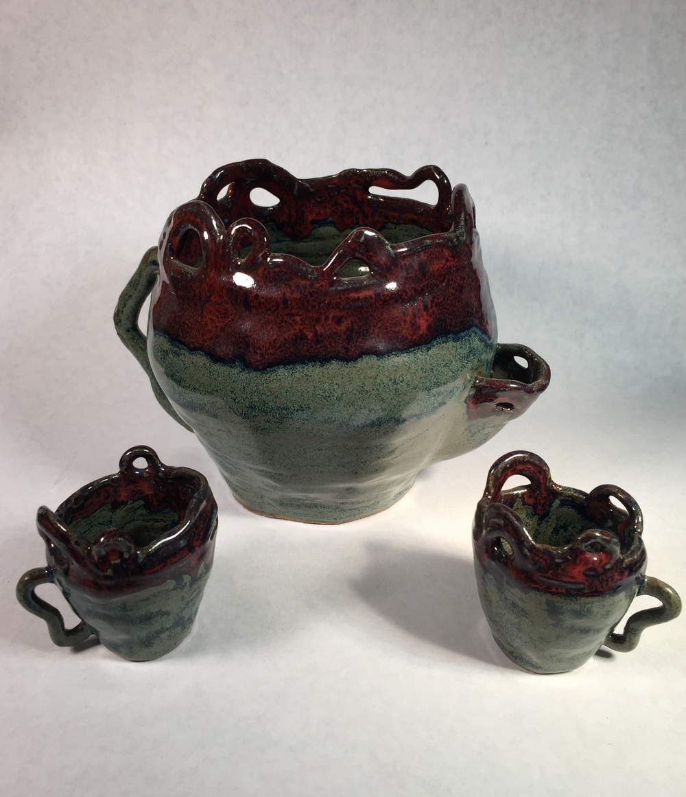 Teapot & teacups  2011