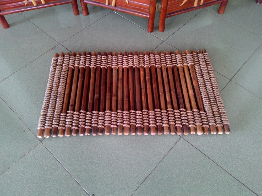 Bamboo Floor Mat