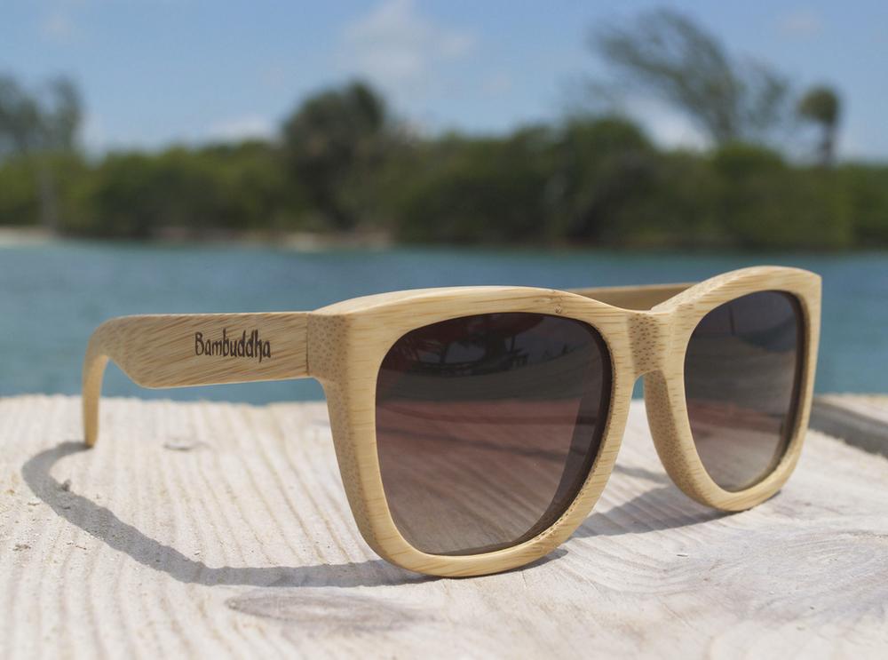 Bamboo Sunglasses - Au Natural