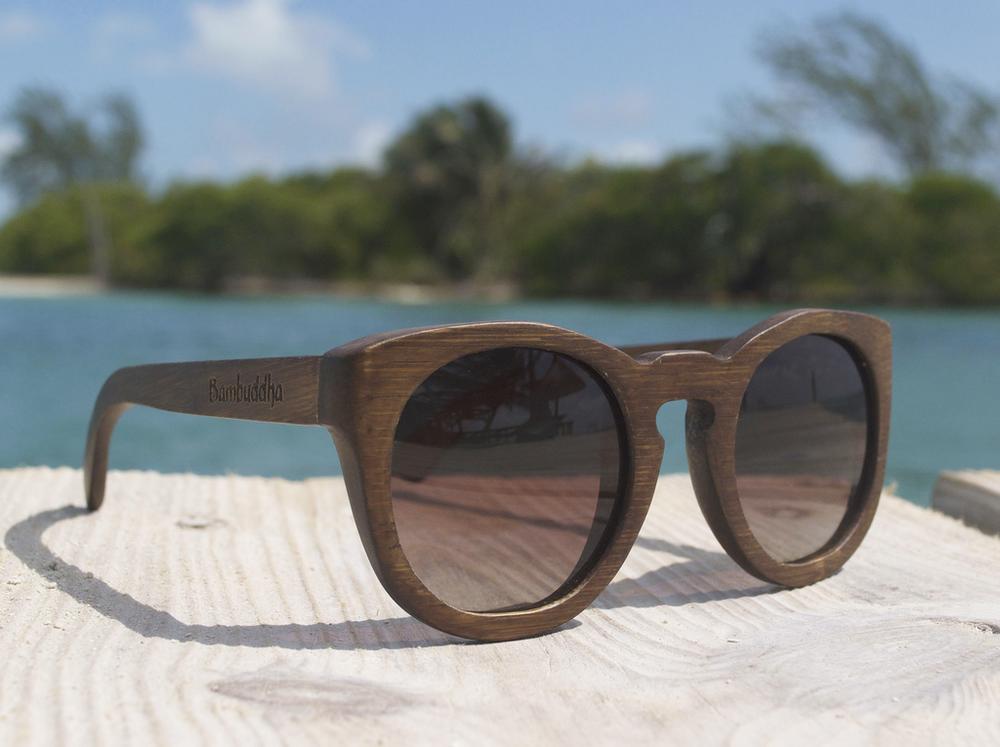 Bamboo Sunglasses - Owl Prowl