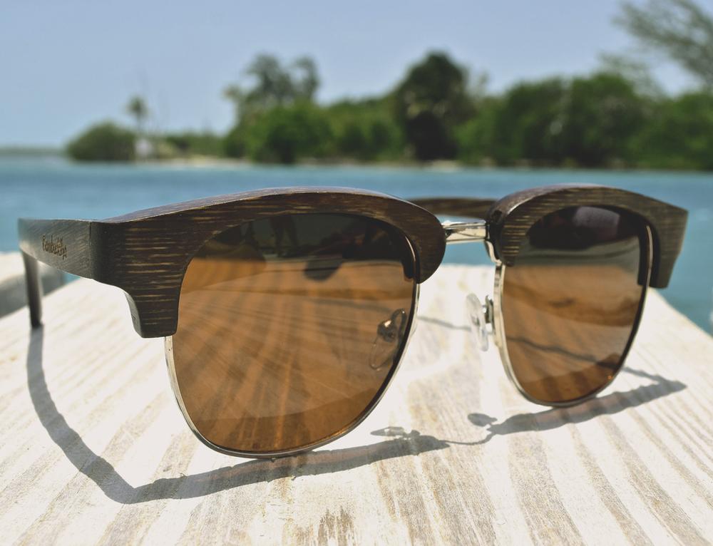 Bamboo Sunglasses - Zen Masters