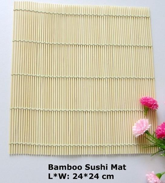 Bamboo Sushi Mat L*WW: 24*24CM