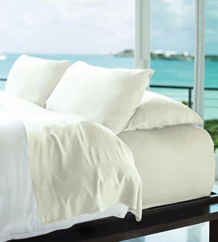 Classic Bamboo Sheets by Cariloha - 4 Piece Bed Sheet Set - Softest Bed Sheets and Pillow Cases - 100% Viscose from Bamboo
