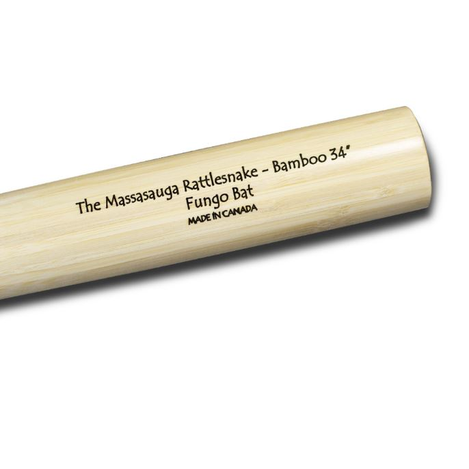 bamboo baseball bat