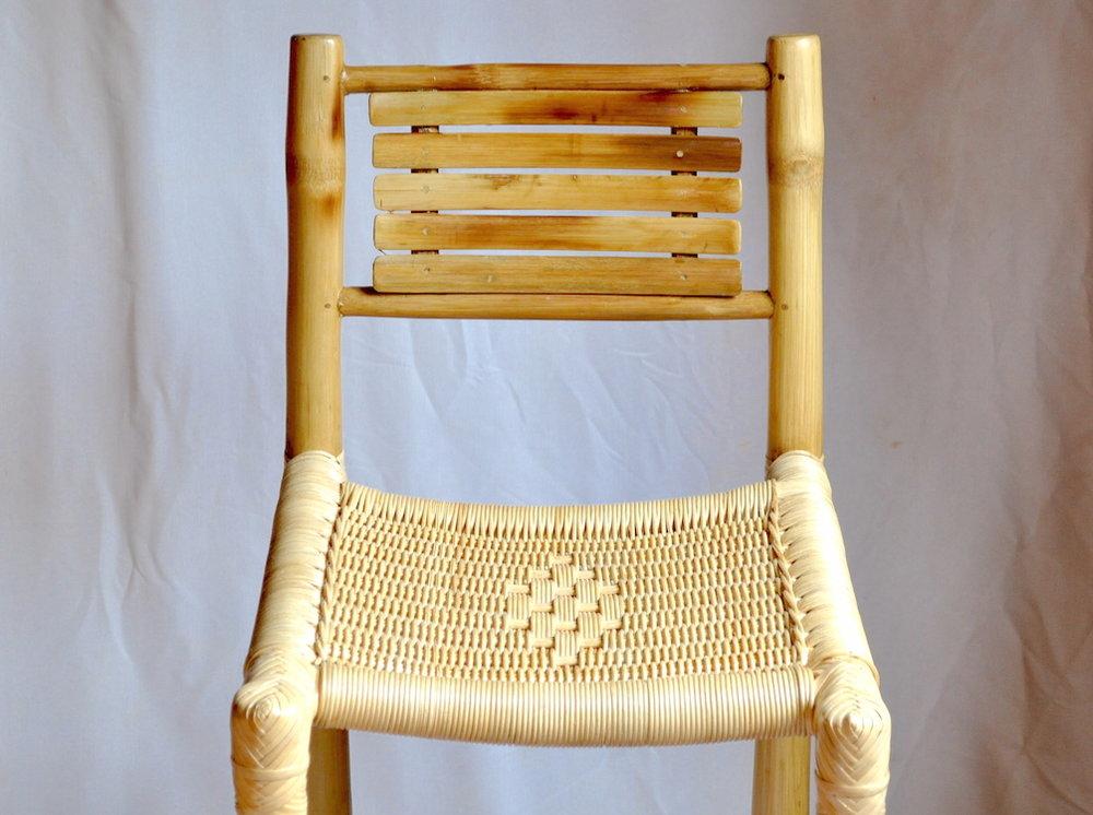 bamboo bar chair