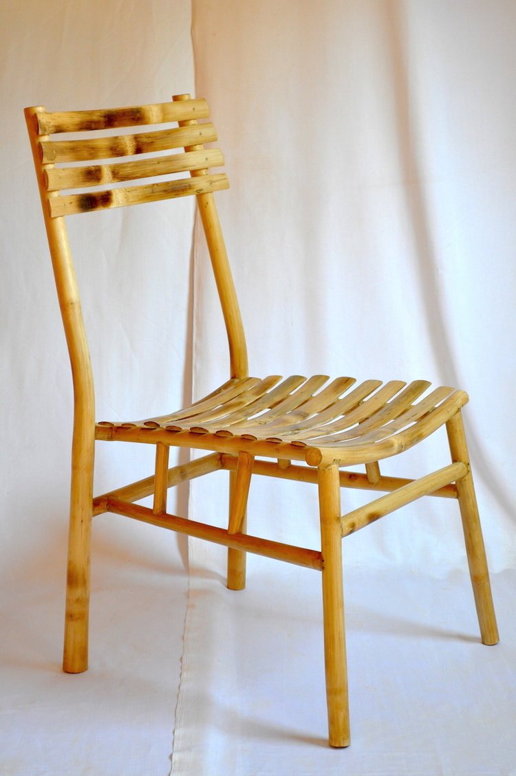 Bamboo Dining Chair Slatted — The Bamboo Emporium