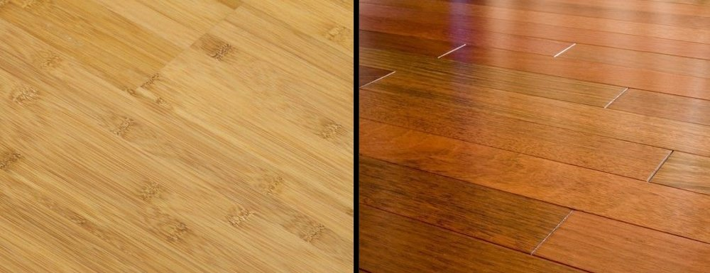 Bamboo Vs, Hardwood
