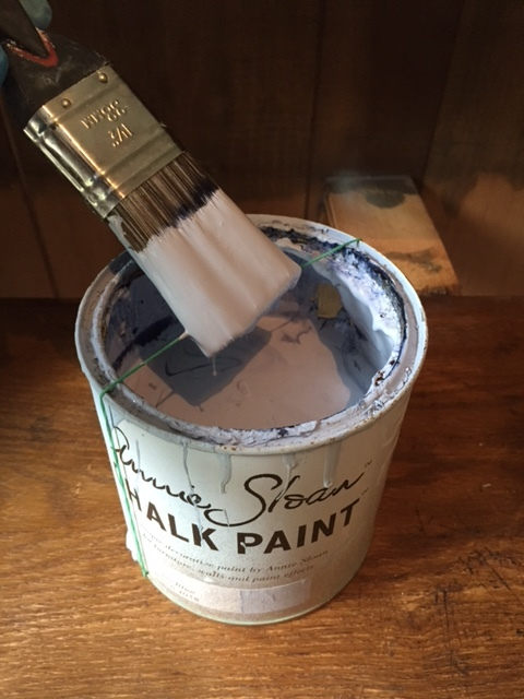 Get your chalk paint ready (don't forget this handy paint pot trick).