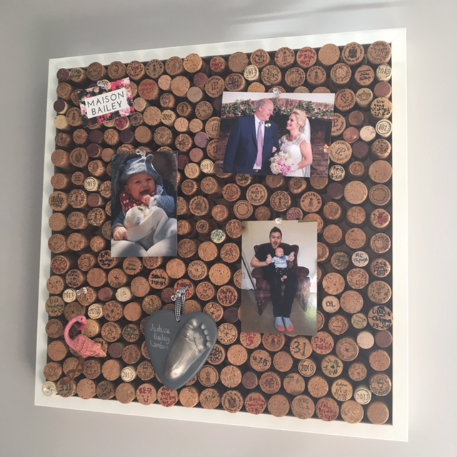 Diy Corkboard Pinterest Projects Maison Bailey