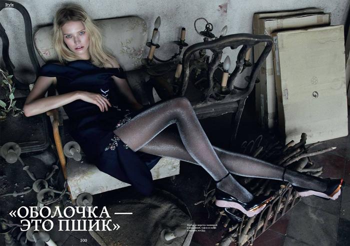 25 Pictures of Russian Model Sasha Luss - Peanut Chuck