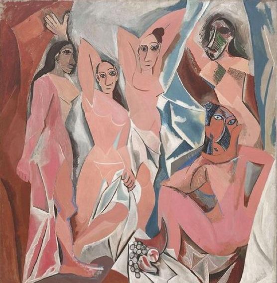 'Les Demoiselles d'Avignon' by Pablo Picasso