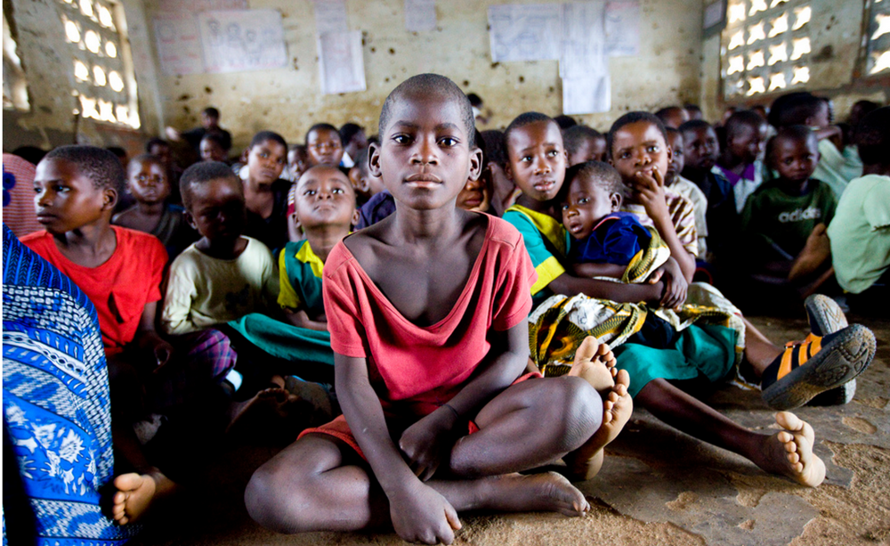 Young girls of similar ages are sent to 'initiation camps' in Malawi.