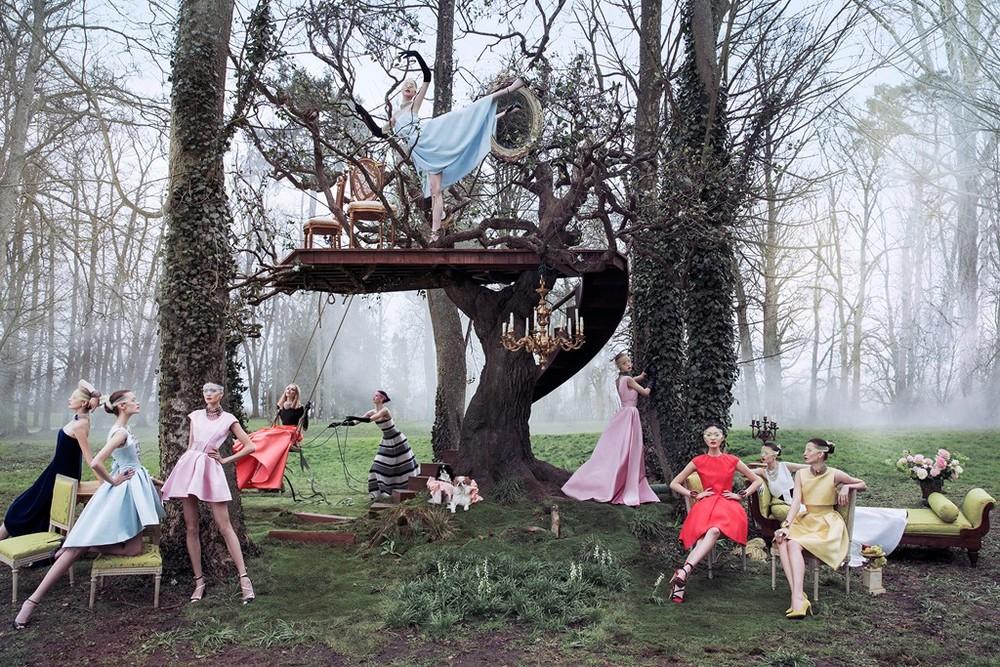 Dior Releases Secret Garden 2, Lensed by Inez & Vinoodh ...