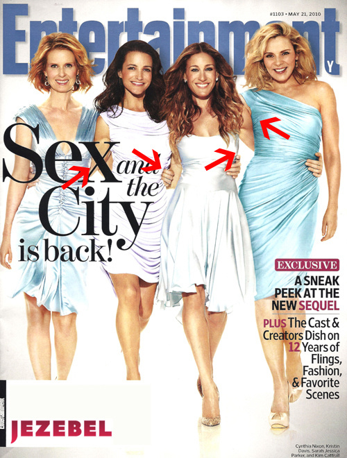 sex and the city entertainment weekly cover
