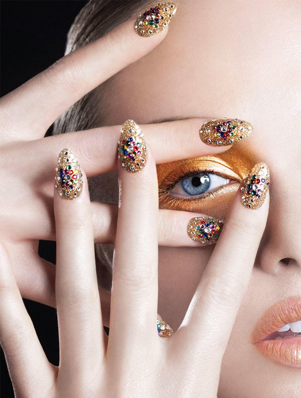Jessica Cook Glitters In Dorit Thies Images In Nail It! Magazine ...