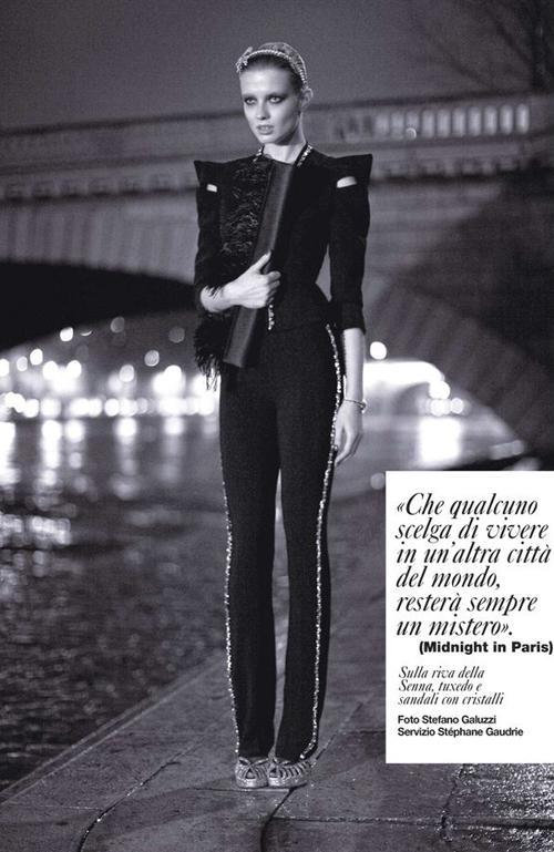 Marlena Skoza Stefano Galuzzi D La Repubblica No 780 Midnight In Paris Anne Of Carversville