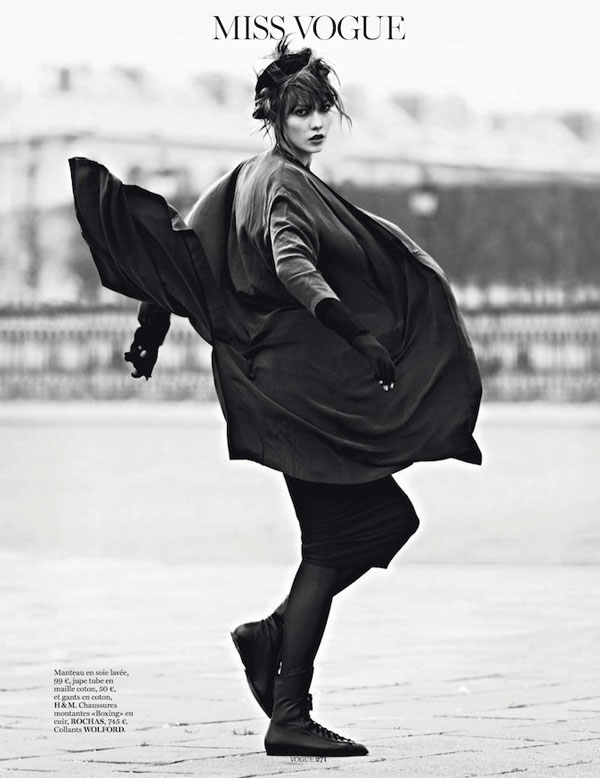 Karlie Kloss Does 'Street Dance' by Lachlan Bailey for Vogue