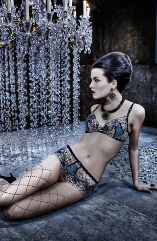 32b6223e2 Fall Winter 2011 12 Lingerie   Corsetry Collections  I.D. Sarrieri ...
